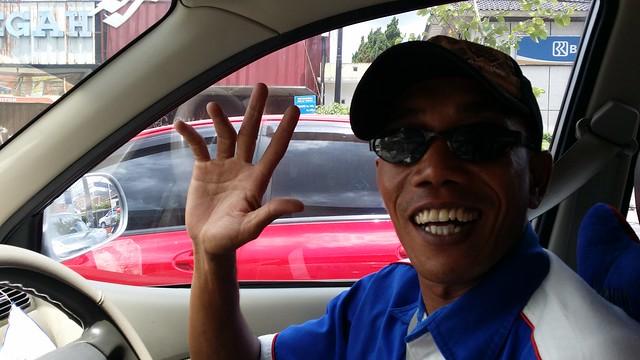 Dodo, chauffeur de taxi - Jalan Menukan - Yogyakarta - Indonésie - mars 2014