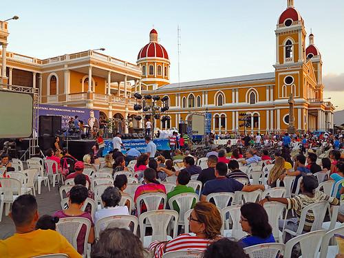 Central Square Granada Nicaragua
