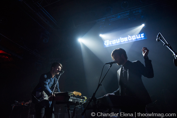 The Darcys @ Troubadour, LA 3/8/14