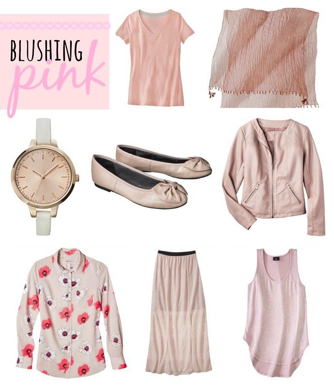 Target blush pink pastel trend