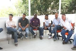 Vagner, Jóia, Castelino, Paulo Vítor, Marquinhos e Sandoval