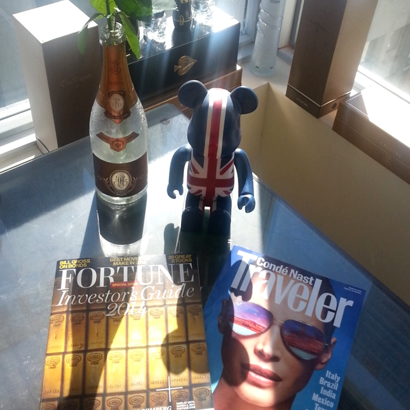 Fortune CN Traveler magazines