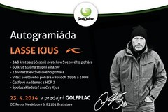Lasse Kjus na Slovensku