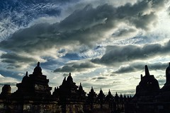 Cloud Formation at Borobudur