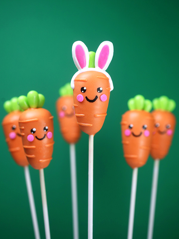 Bunny Carrot Cake Pops