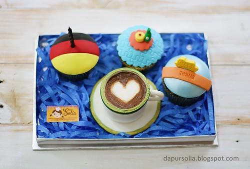 Capucino Cupcake