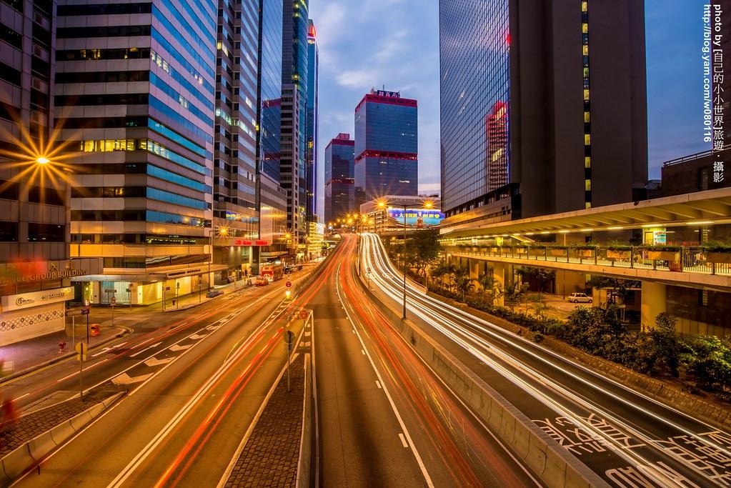 香港中環車軌