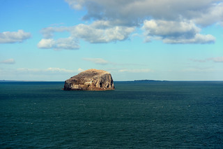 The Bass Rock and the Firth of Forth