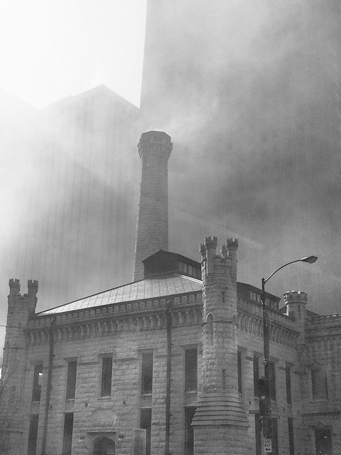 Fog over Water Tower / Lookingglass Theatre Company