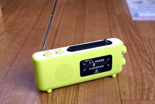 携帯ラジオ