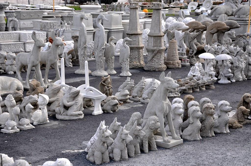 Paint Concrete Statues Home