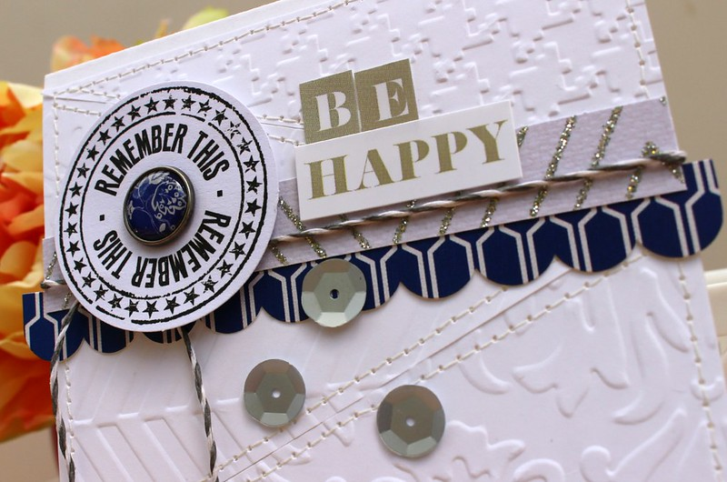 TERESA COLLINS DESIGNS Be Happy Card 2