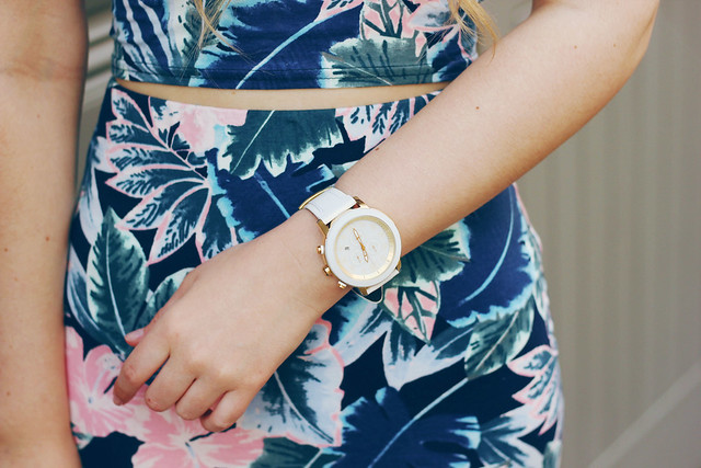 Co-ord trend outfit Citizen Watches New Look