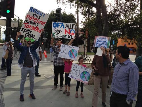 KXL protest, San Jose IMG_2480