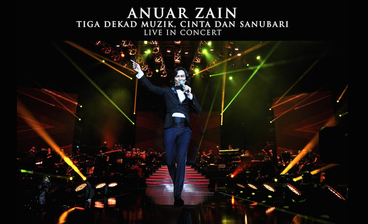 Anuar zain - Tiga Dekat Muzik, Cinta Dan Sanubari Live In Concert