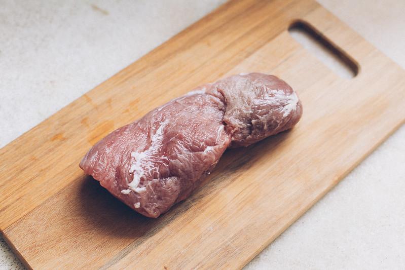 Filet Mignon Suíno com Mostarda Escura