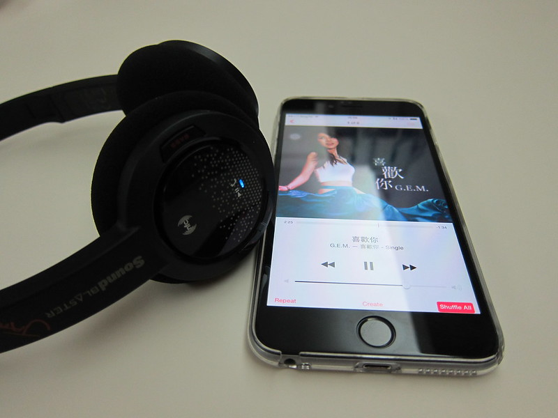 Creative Sound Blaster Jam Headphones - Bluetooth On
