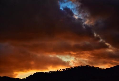 sunset ciel coucherdesoleil menton alpesmaritimes