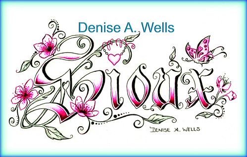 Sioux Tattoo Design by Denise A. Wells