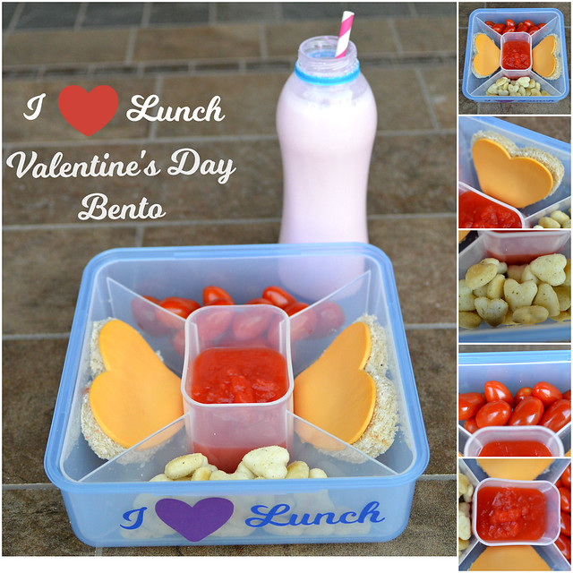 I heart lunch valentines day bento