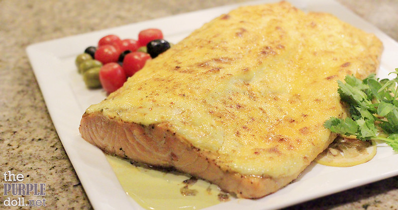 Roast Salmon from Mercado