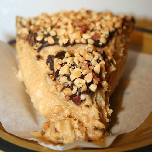 Peanut butter pie, City Bakery
