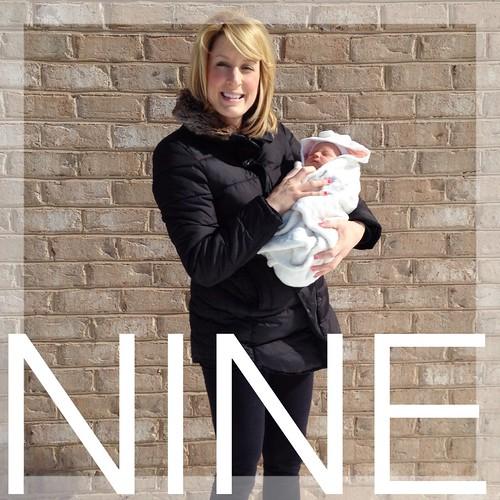 Baby #2: Nine Months