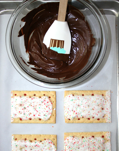 Chocolate Dipped Pop-Tarts