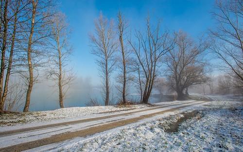 winter fog landscapes lakes croatia foggymorning nikkor173528 nikond600 zaprešić zajarki lakezajarki