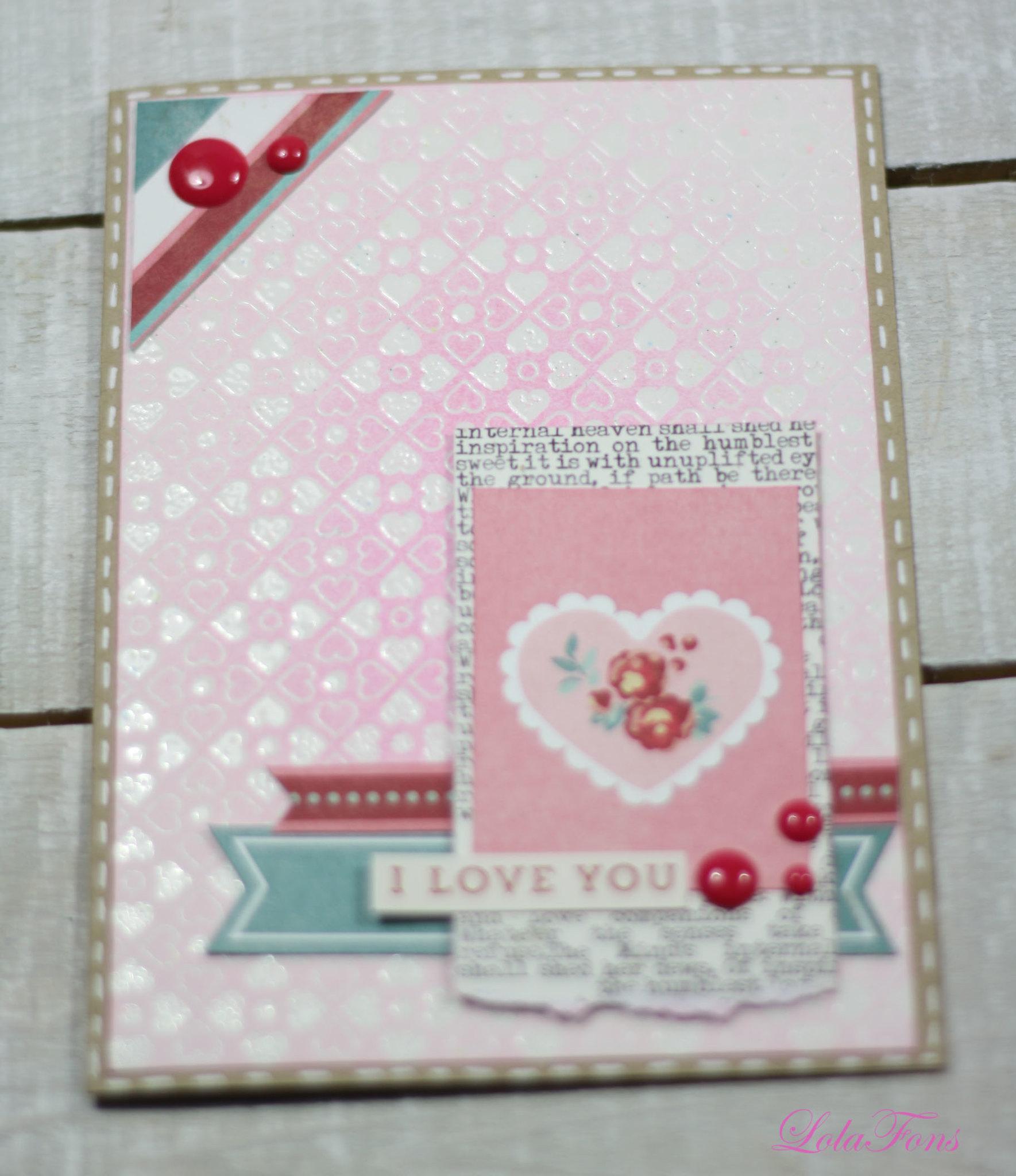 Tarjeta San Valentín 5