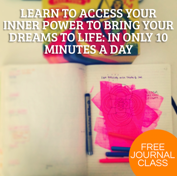 Free Journal Class: Give Your Dream Wings