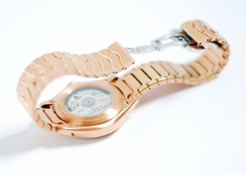 La Villa Turque, Maison EBEL Limited Edition pink gold watch | Not Dressed As Lamb