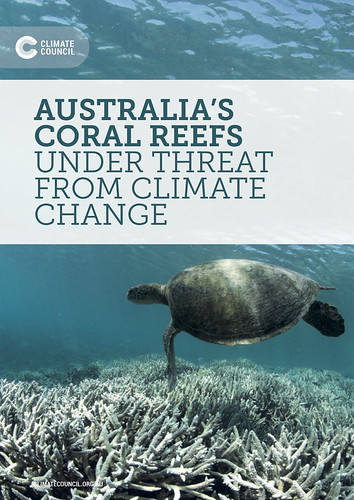 AUSTRALIA'S CORAL REEFS UNDER THREAT FROM CLIMATE CHANGE @climatecouncil