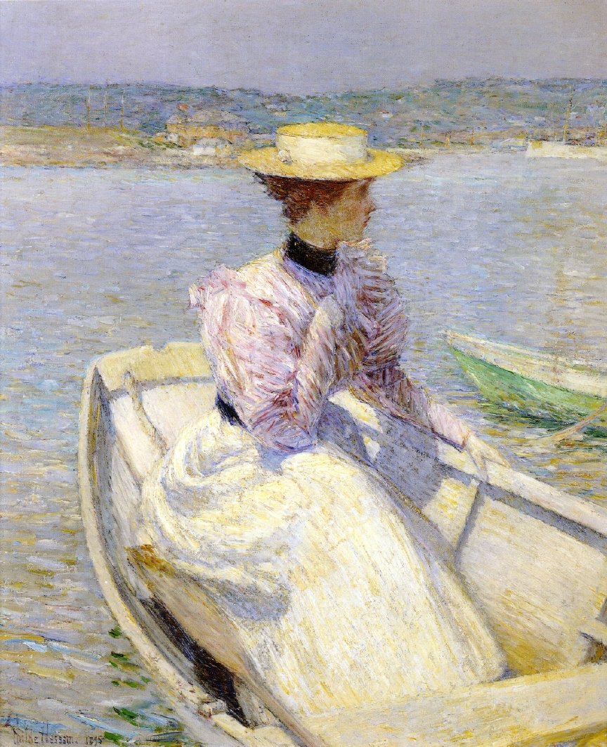 The White Dory by Frederick Childe Hassam - 1895