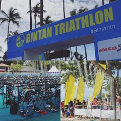 Pretty good day for this, imho. Sprint distance next year? Maybe. #triathlongoals #bintan