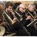 trombonesectie - Maarten Vanhoucke, Pieter De Naegel, Serge Hoste, Guido Ros