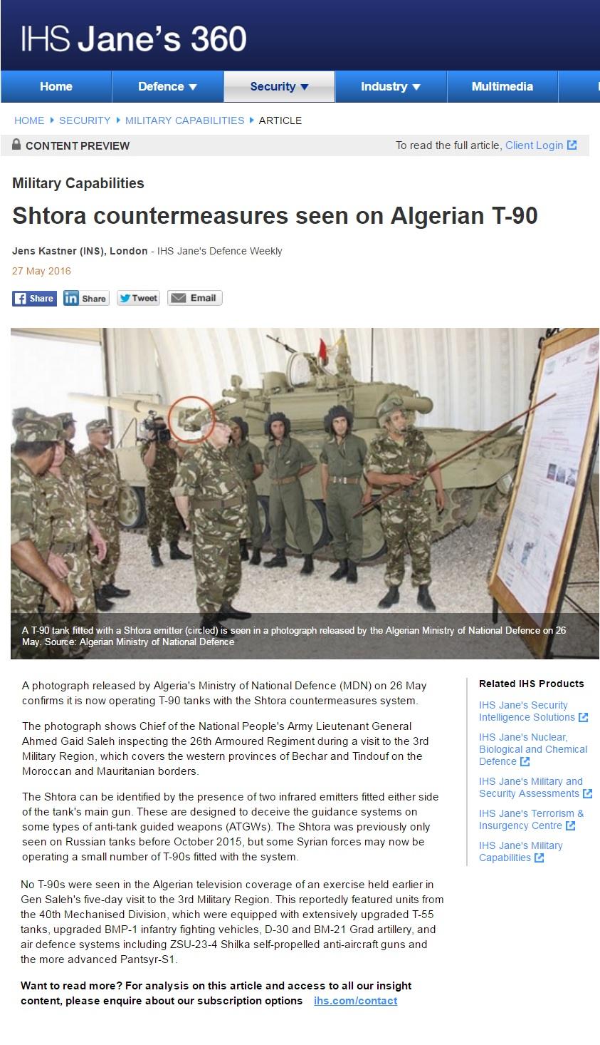 2015 - الجزائر تستلم حزمة ثالثة  من  [ دبابات T-90  ]   - صفحة 11 27289258675_e28c497648_o