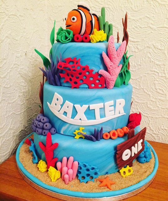 My Son's 1st Birthday Cake by Claire Stables
