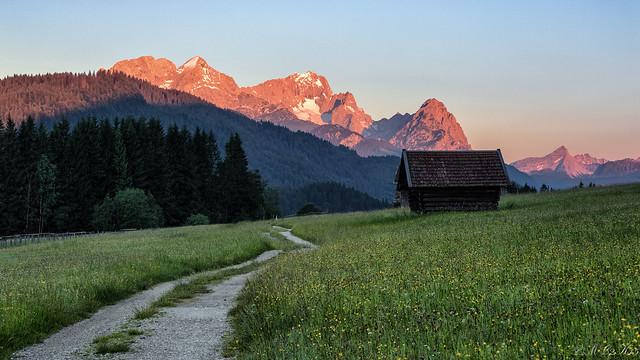 Wettersteingebirge - sunrise