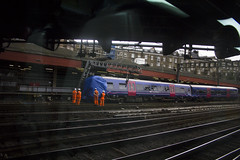 Derailment at London Paddington railway station, 16th June 2016
