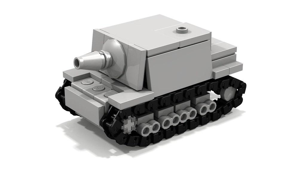 Sturmpanzer IV Brummbär mini assault gun
