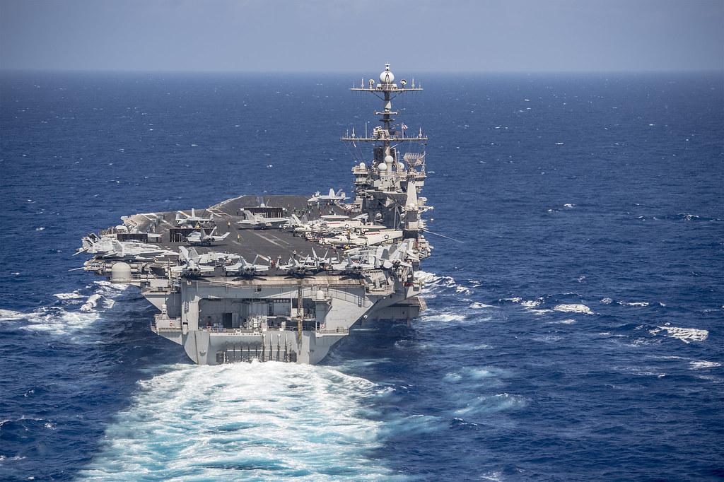 Truman Strike Group Enters European Theater Us Naval Forces