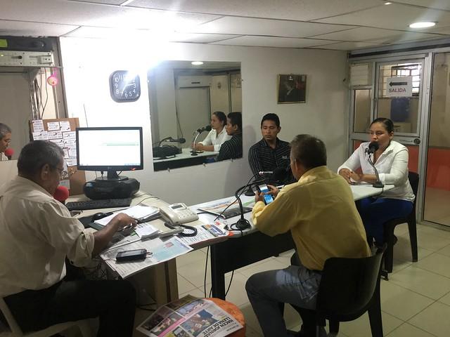 Gerente de Aguas del Chuno en declaraciones a periodistas de Radio Coqueta