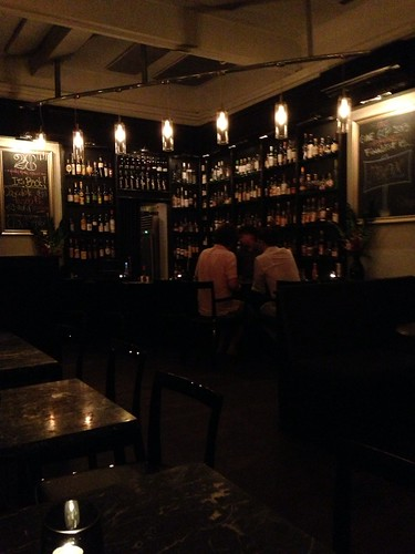 The bar at 28 Hong Kong Street, Singapore