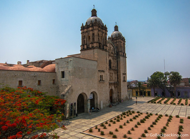 The Church of Santo Domingo de Guzmán