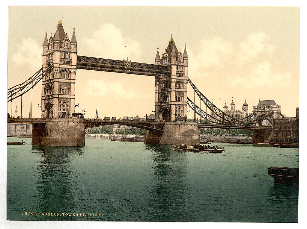 [Tower Bridge, III. (closed), London, England] (LOC)