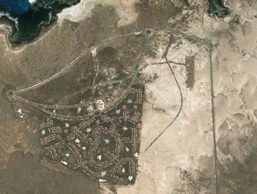 Majanicho, Las Palmas, Fuerteventura, Canarias, Islas, costa, después, urbanismo, planeamiento, urbano, desastre, urbanístico, construcción