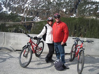 Gaye Biking in Alaska - Backdoor Survival