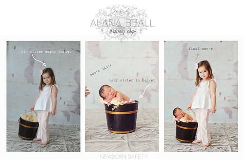 Newborn SAFETY sibling Photography