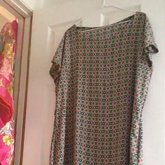 art(0.0), magenta(0.0), sleeve(0.0), maroon(0.0), sari(0.0), pattern(1.0), textile(1.0), clothing(1.0), peach(1.0), design(1.0), pink(1.0), dress(1.0),